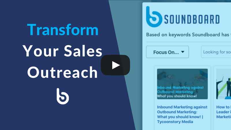sales outreach video